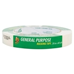 "Duck Brand, MK-401P, General Purpose Masking Tape, 3/4"" x 60yd , 1 count"