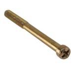 Marks S14 Polished Brass Mortise Cylinder Set Screw For The Marks 91A And Many Other Mortise Lock Sets (1 Screw Per Pack)
