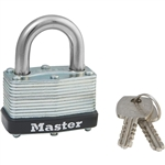 Master Lock 500KA KEY 255 1-3/4 In. Wide Multi-Spring Laminated Steel Padlock - Keyed Alike
