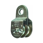 "National, N199-810, 1-1/2"", No-Rust, Fixed Eye Double Pulley"
