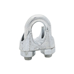 "National, N248-344, 3/4"", Zinc Wire Cable Clamp"