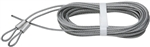 "National, N280-313, V7617, 2 Pack, 12' x 1/8"" Galvanized Extension Spring Lift Cable"