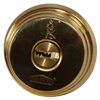 Nabob (Like Mul-t-lock) Single Cylinder deadbolt with Thumb turn - Brass, HIGH SECURITY, 006 KEYWAY