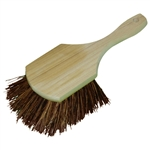"H.B. Smith, PB8, 8"", Palmyra Bristle Pot Brush with Wood Block"