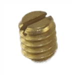 "Progressive 1420 Polished Brass Standard Knob Set Screw 1/4"" - 20 TPI For The Progressive Model #'s 2400 & 2600 (1 Screw Per Pack)"