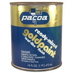 Pacoa, PGP16, 1 Pint, Ready Mixed Gold Paint, Brilliant Gold Leaf Finish