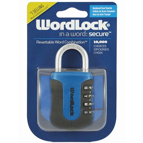 Wordlock Sports Lock 4 Dial