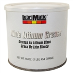 LubriMatic 11350 White Lithium Grease 16oz Canister An Automotive Lubricant