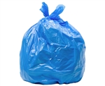 "Poly-pak Industries 33401 1.25 MIL 33 Gallon Blue Recycling Garbage Trash Bags 33""X40"", 40 COUNT"