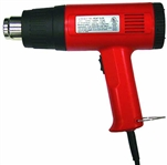 Tuff Stuff, PTA1402, Dual Temperature 2 Settings Heat Gun With 4 Nozzles, 12.5 Amp 1500 Watt