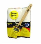 Stanley FatMax, PTST03504, PBT 4 Piece Pro Grade Professional Roller and Paint Brush Kit