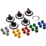 Aqua Plumb, RKE, Universal Electric Range Oven Stove Knob 5 Piece Set, Replacement