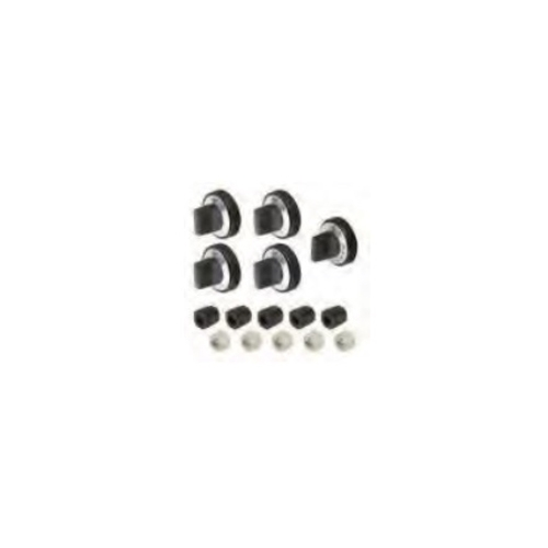 stove knobs replacement. aqua plumb, rkg, universal gas range oven stove knob 5 piece set, replacement knobs b