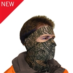 Exo Pro, S236C, Large, Hunting Camo, Extreme Cold Weather Full Face and Neck Mask, Velcro Ski Mask