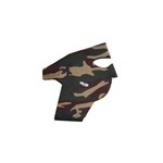 Exo Pro, S244, Extra Large, Military Camo, Extreme Cold Weather Full Face and Neck Mask, Velcro Ski Mask