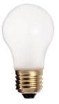 Satco S3721 130V Medium Base 40-Watt A15 Appliance Light Bulb, Frosted