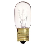 Satco S3911, 15 Watt - T7 - 130 Volt - Intermediate Base - Tubular Light Bulb