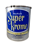 SHEFFIELD 5310 Gold Leaf Metallic 1 QT 32 OZ Bottle Super-Krome Aluminum Finish Paint