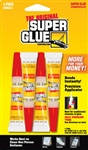 Super Glue Corp., SGH24J-12, 4 Pack, 2 Grams Super Glue, Instantly Bonds Metal
