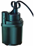 Aqua Plumb, SUP16, Submersible Utility Pump, 1/6 H.P., Flow Rate 1,370 GPH Lift 26.3 Feet