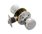 Tuff Stuff T02PCA Polished Chrome Tulip Knob Passage Lockset With Adjustable Backset