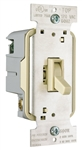 Pass & Seymour, T600IV, 600 Watt, Ivory, Incandescent Toggle Dimmer, Single Pole