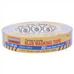 "TUFF STUFF TAPE, 1"" x 60 YD, 36mm x 55m, Painter's Grade Blue Masking Tape, 30 Days Clean Removal, UV Resistant"