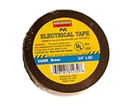 "Tuff Stuff Tape Brown 3/4"" X 60' PVC Electrical Tape UL Listed"