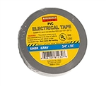 "Tuff Stuff Tape Grey 3/4"" X 60' PVC Electrical Tape UL Listed"