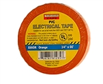 "Tuff Stuff Tape Orange 3/4"" X 60' PVC Electrical Tape UL Listed"
