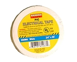 "Tuff Stuff Tape White 3/4"" X 60' PVC Electrical Tape UL Listed"