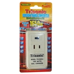 Trisonic TS-514R-A 1650 Watt Foreign Travel Converter For Short Time Use Only!