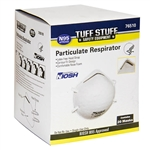 Tuff Stuff 76510 Box Of 20 N95 Particulate Respirator Masks With NO VALVE