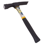 Tuff Stuff 95617 24 OZ Head Brick Hammer Rubber Grip With Fiberglass Handle
