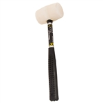 Tuff Stuff 95641 8 OZ White Rubber Mallet Tubular Handle