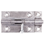 "Tuff Stuff 19025DC Dull Chrome 2-1/2"" Barrel Bolt"