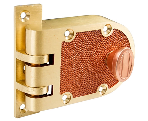 Tuff Stuff Locks Like Segal Solid Bronze Jimmy Proof
