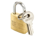 "Tuff Stuff 3075 3/4"" Solid Brass Body Padlock"