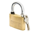 "Tuff Stuff 3150 1-1/2"" Solid Brass Body Padlock"