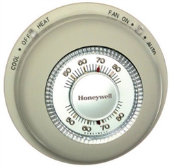 Honeywell, T87K1007, Tradeline Mercury Free Heat Only Thermostat