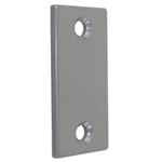 "Ultra 58161 Grey Filler Plate 2-1/4"" X 1-1/8"" For Steel Doors"