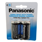 "Panasonic UM-2NPA-2B 2 Pack Of ""C"" Carbon Zinc Battery With 1.5V For Use In Low Drain Devices"