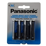 "Panasonic UM-3NPA-4B 4 Pack Of ""AA"" Carbon Zinc Battery With 1.5V For Use In Low Drain Devices"