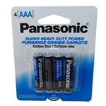 "Panasonic UM-4NPA-4B 4 Pack Of ""AAA"" Carbon Zinc Battery With 1.5V For Use In Low Drain Devices"