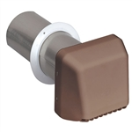 "Aqua Plumb, VHWMB, 4"" Wide Mouth, Brown, Dryer Hood Vent"