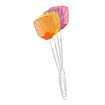 PIC CORP WIRE Plastic Fly Swatter With Metal Handle, 1 Piece, Assorted Colors