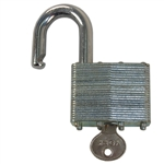 York 2 Inch Warded Brass Cylinder Padlock With Standard Shackle