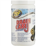 ZEP Commercial Enforcer ZDC16 Powder 18 OZ Drain Care Build Up Remover Enzymatic Drain Cleaner