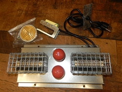 Heater & Thermostat for Box Brooder 110V