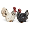 Rooster & Hen Decor